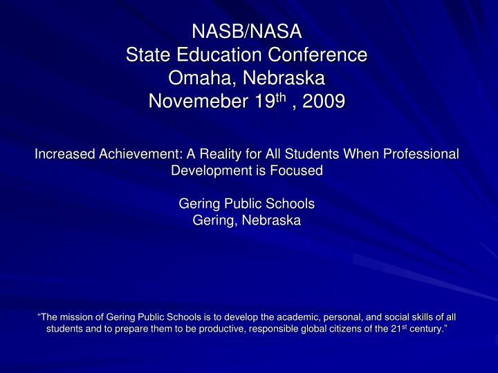 NASB/NASA