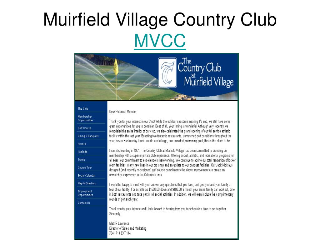 Muirfield Village Country Club
