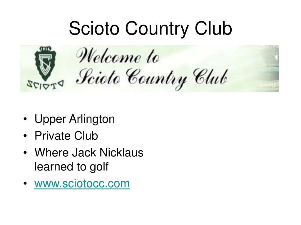 Scioto Country Club