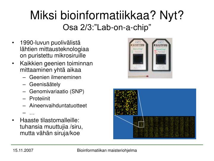 Ppt bioinformatiikka ja mbi ohjelma powerpoint for Lab on a chip template