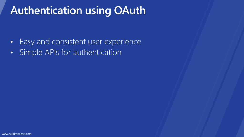 Authentication using