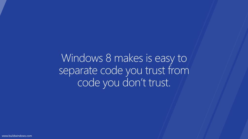 Windows 8 makes is easy to