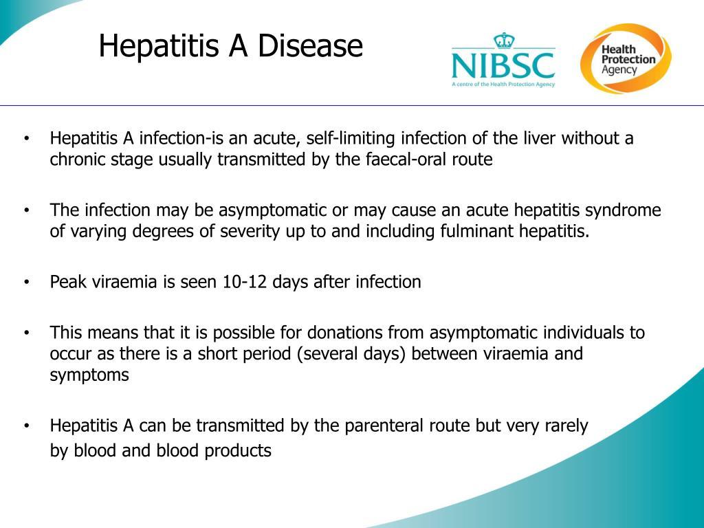 Hepatitis A Disease