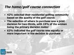 the home golf course connection