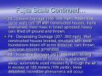 fujita scale continued