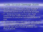 fujita tornado damage scale