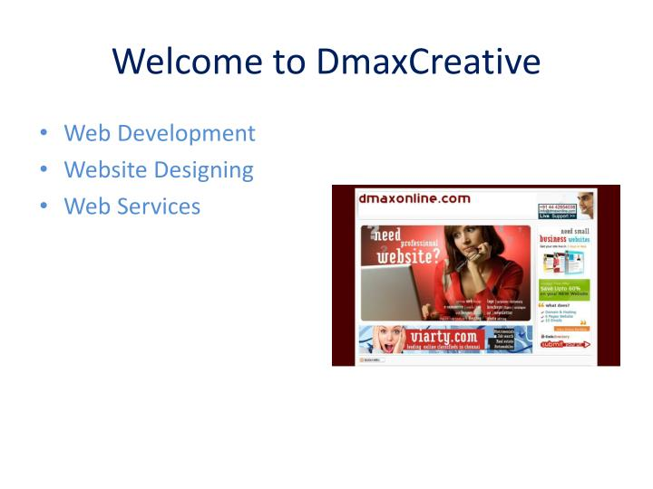 Welcome to dmaxcreative