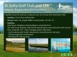 st sofia golf club and spa bulgaria europe s next golf destination