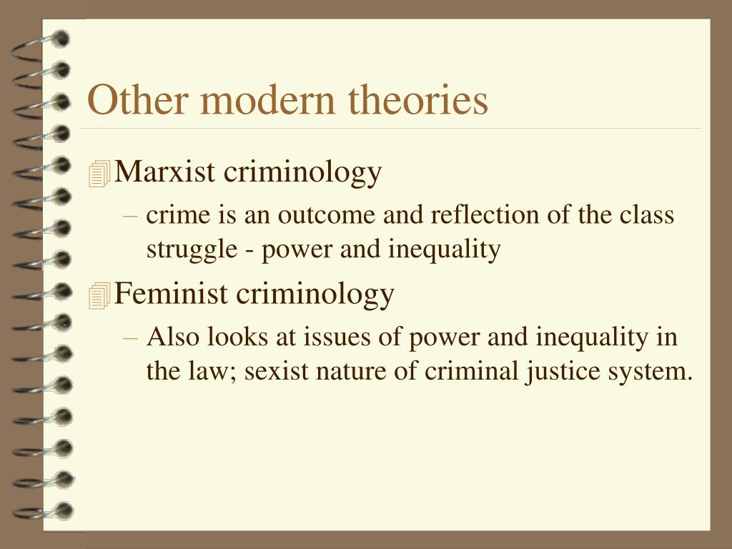 Other modern theories