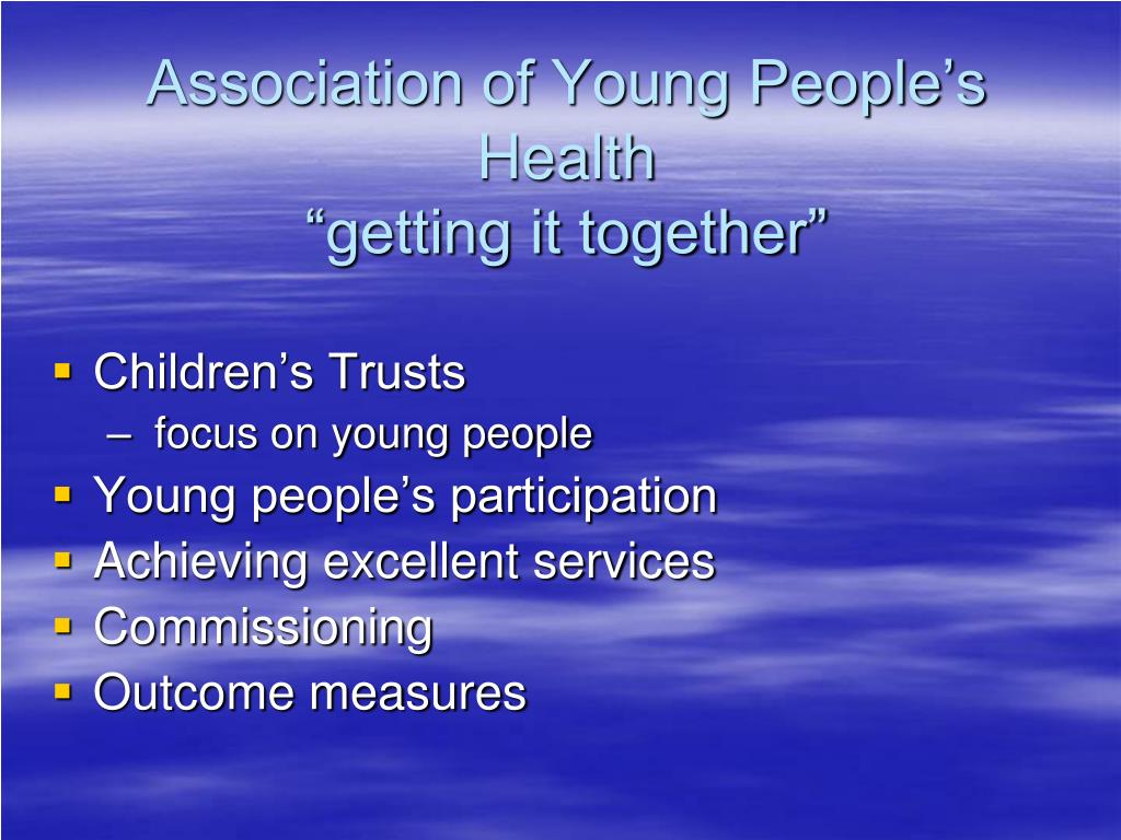 Association of Young People's Health
