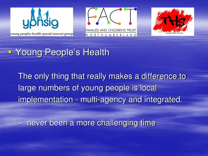Young People's Health