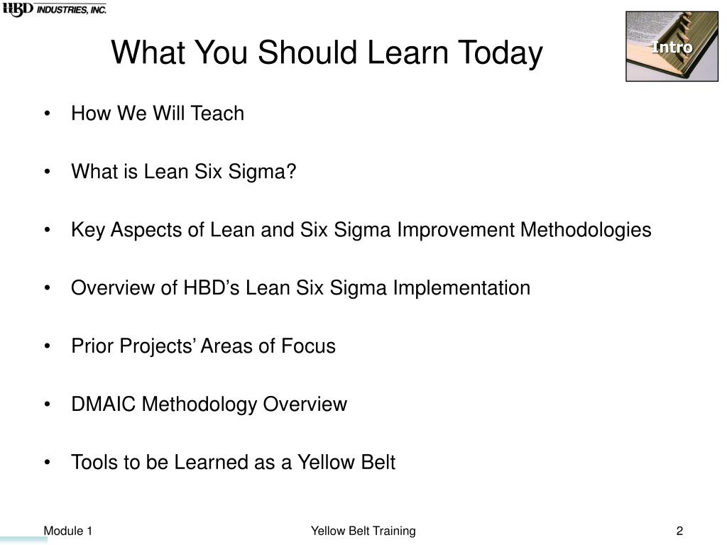 What You Should Learn Today