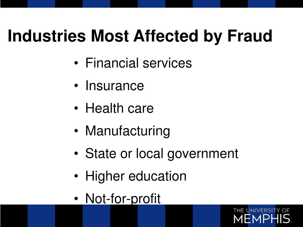 Industries Most Affected by Fraud