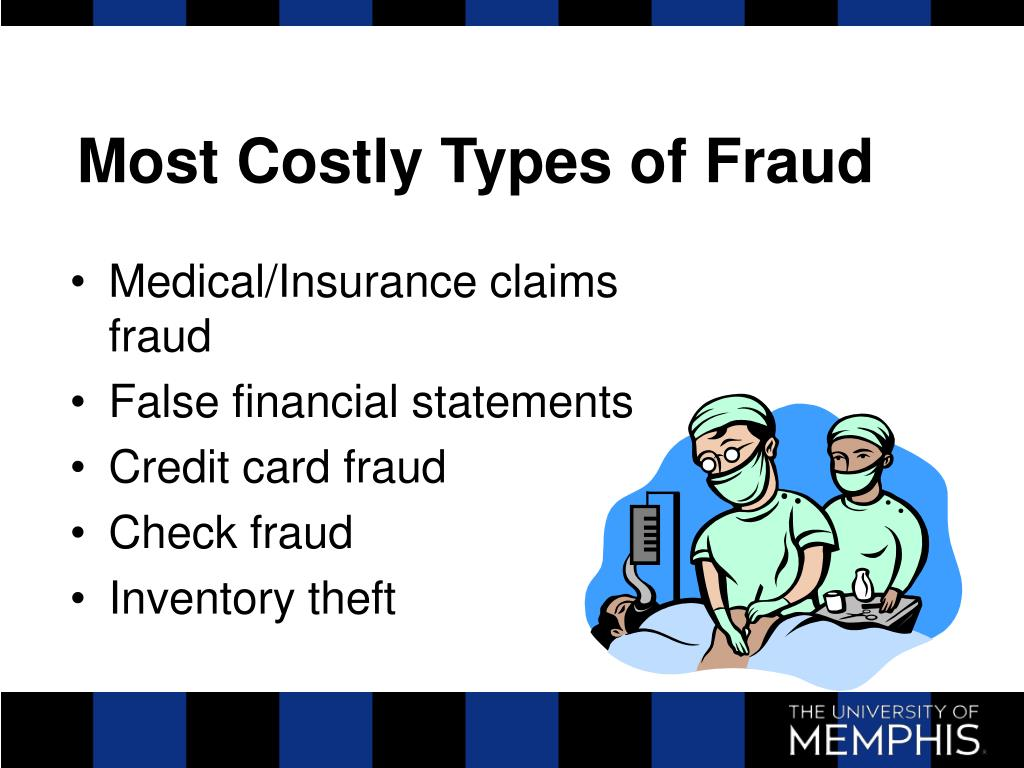 Most Costly Types of Fraud