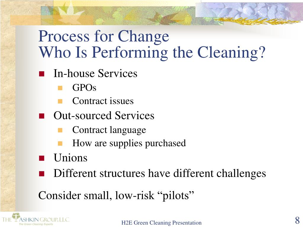 Process for Change
