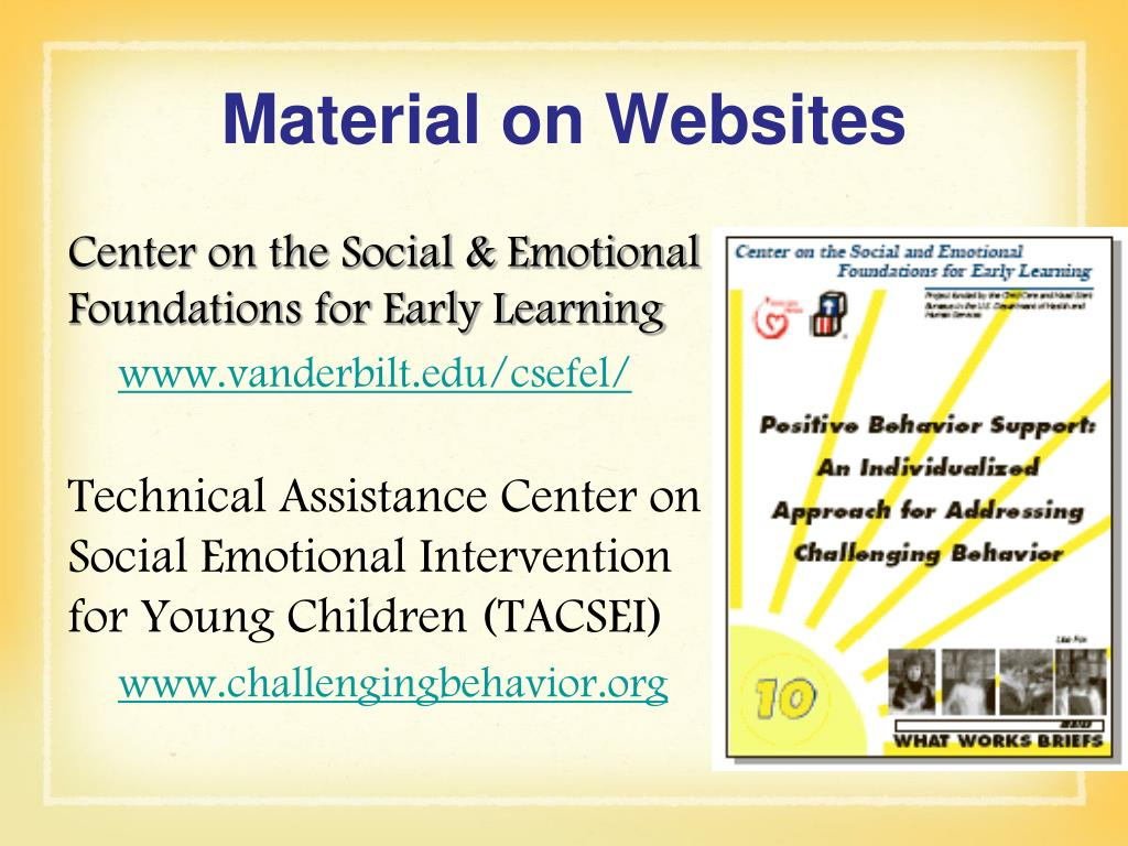 Material on Websites