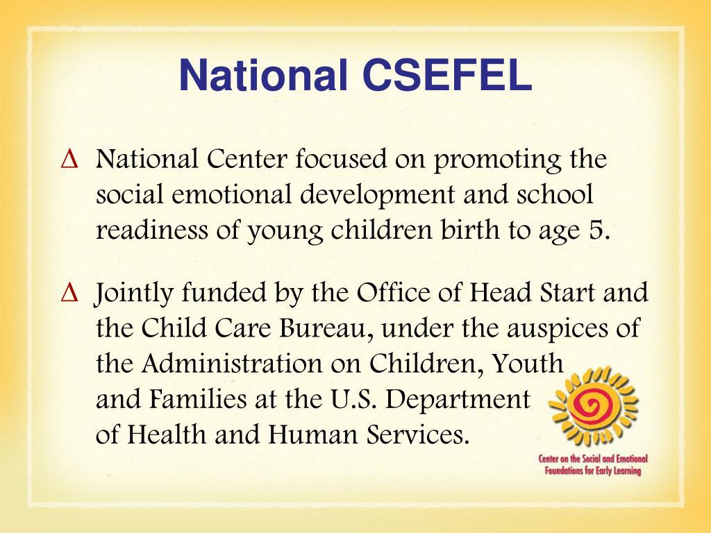 National CSEFEL