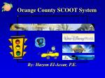 orange county scoot system