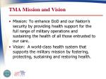 tma mission and vision