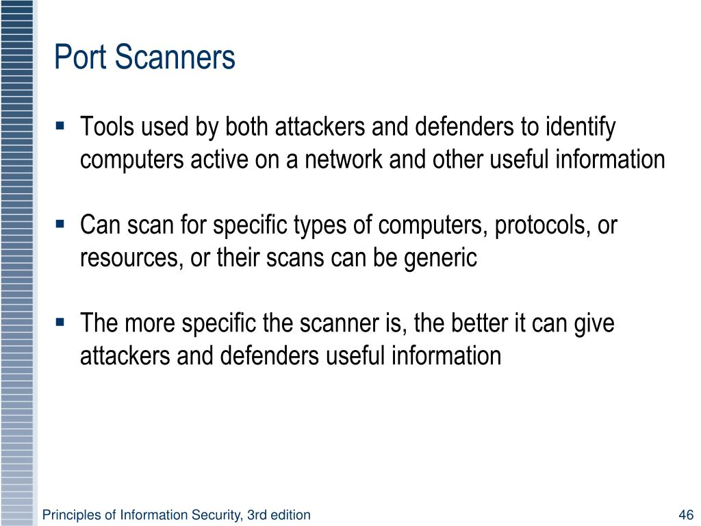 Port Scanners