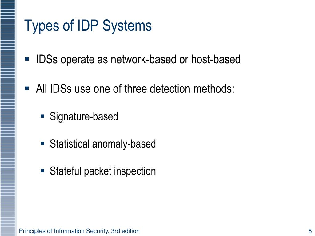 Types of IDP Systems