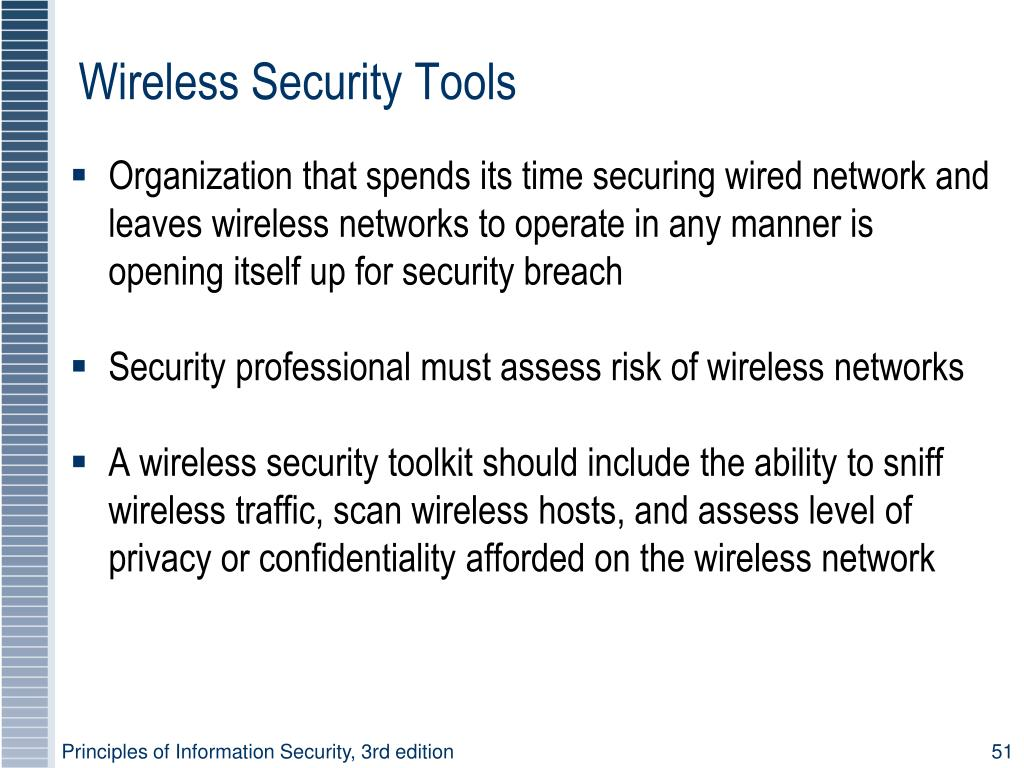 Wireless Security Tools