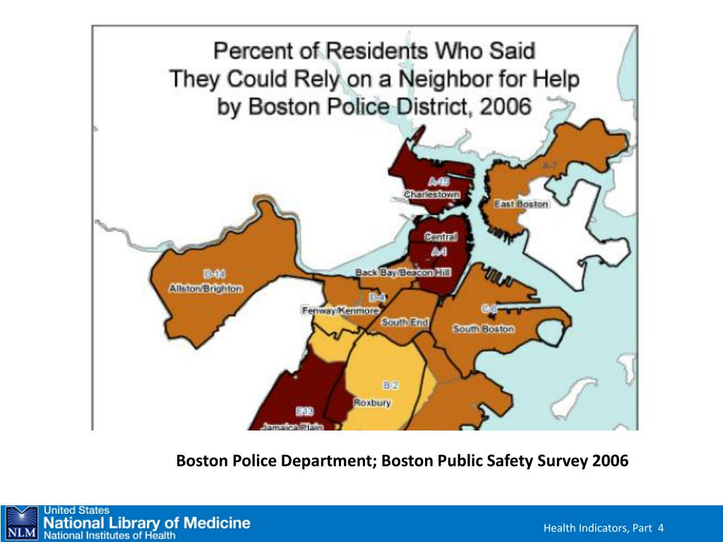 Map and Data from the Boston Police Department