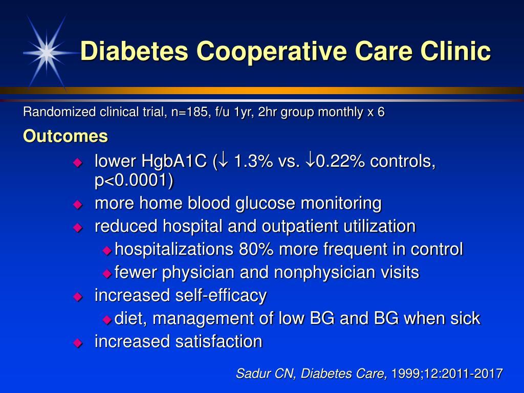 Diabetes Cooperative Care Clinic
