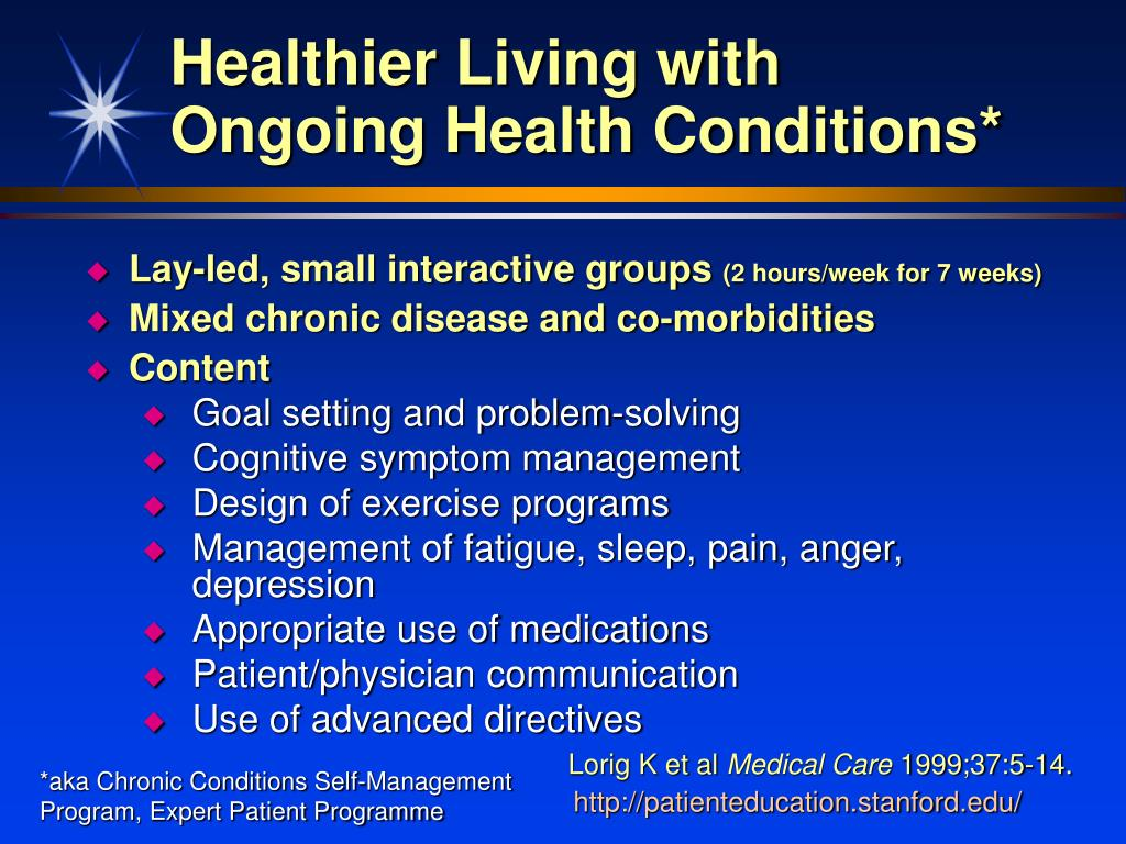 Healthier Living with