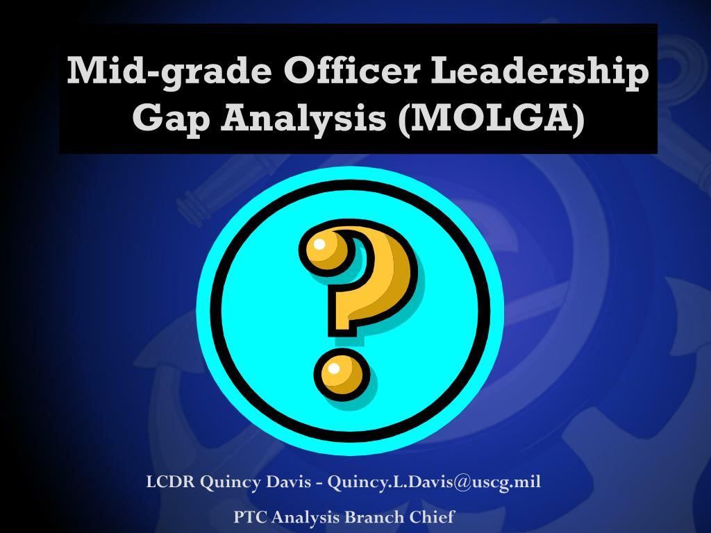 Mid-grade Officer Leadership Gap Analysis (MOLGA)