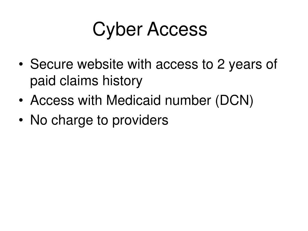 Cyber Access