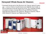 honeywell whole house air cleaners