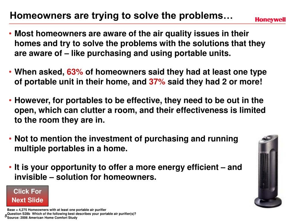 Homeowners are trying to solve the problems…
