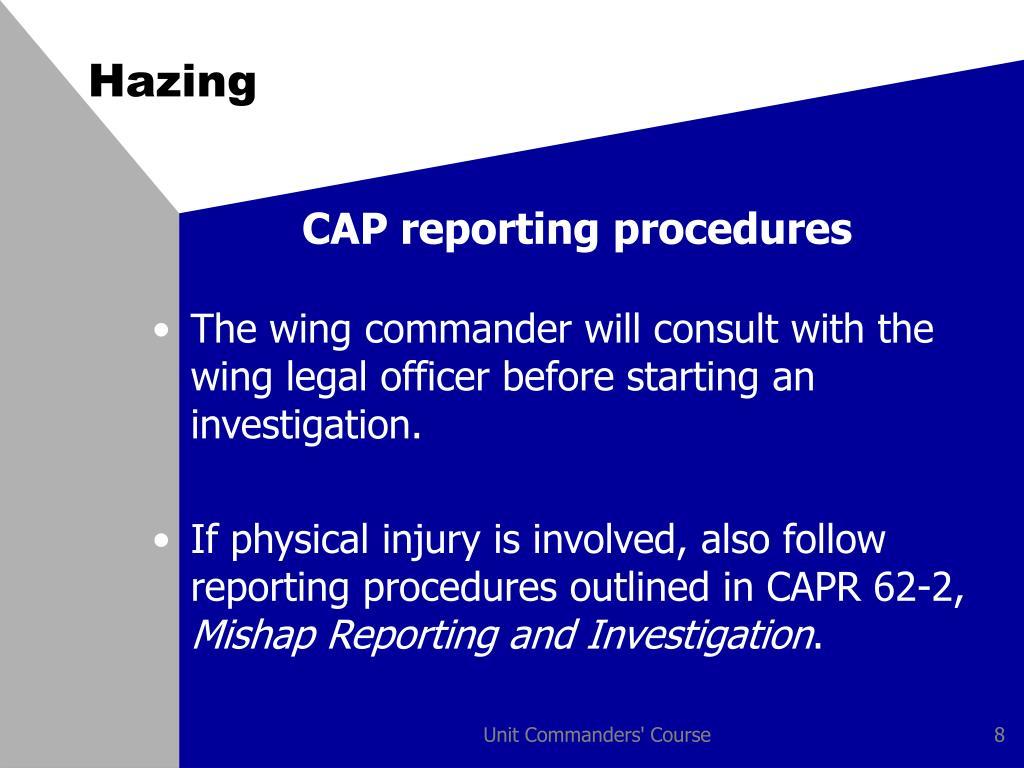capa report