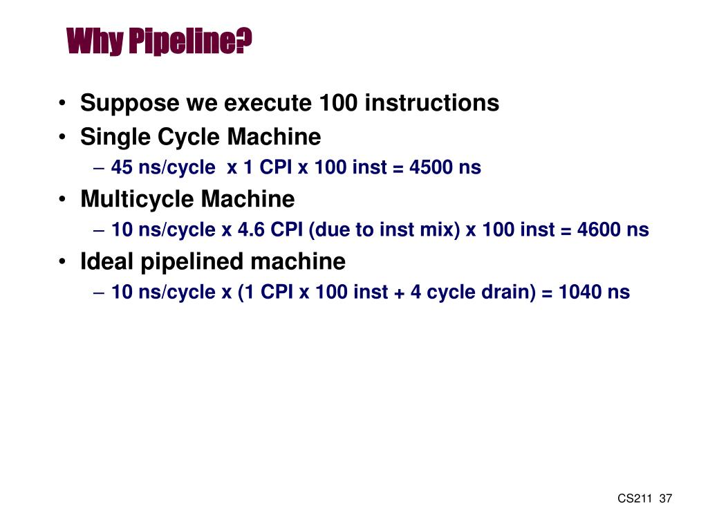 Why Pipeline?