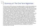 summary of the one term nightmare