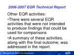 2006 2007 eqr technical report56