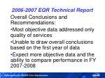 2006 2007 eqr technical report69