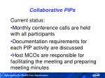 collaborative pips24