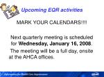 upcoming eqr activities79