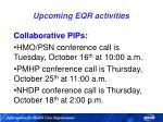 upcoming eqr activities81