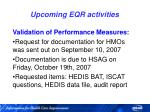 upcoming eqr activities82