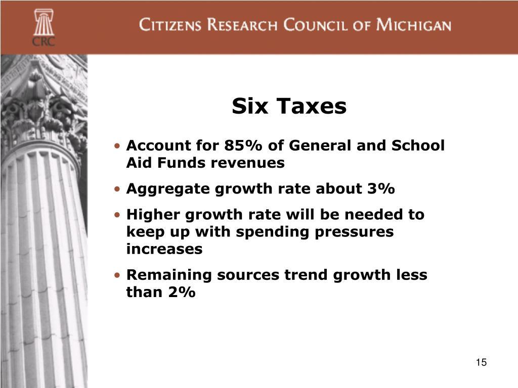 Six Taxes