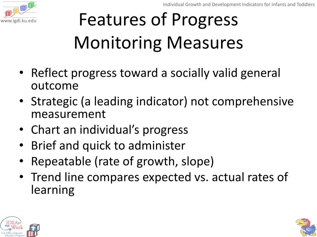 Features of Progress