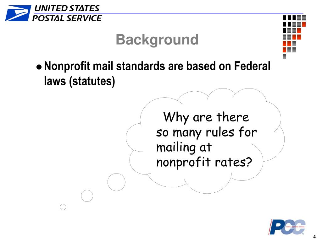Why are there so many rules for mailing at nonprofit rates?