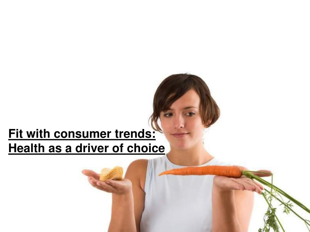 Fit with consumer trends: