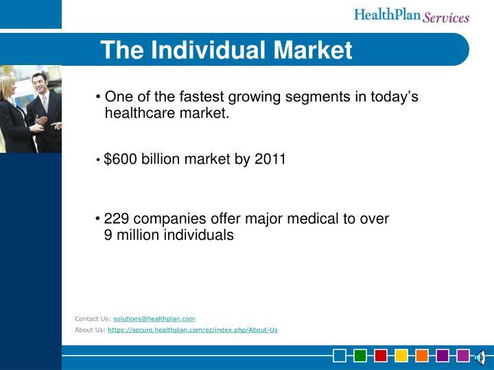 The individual market