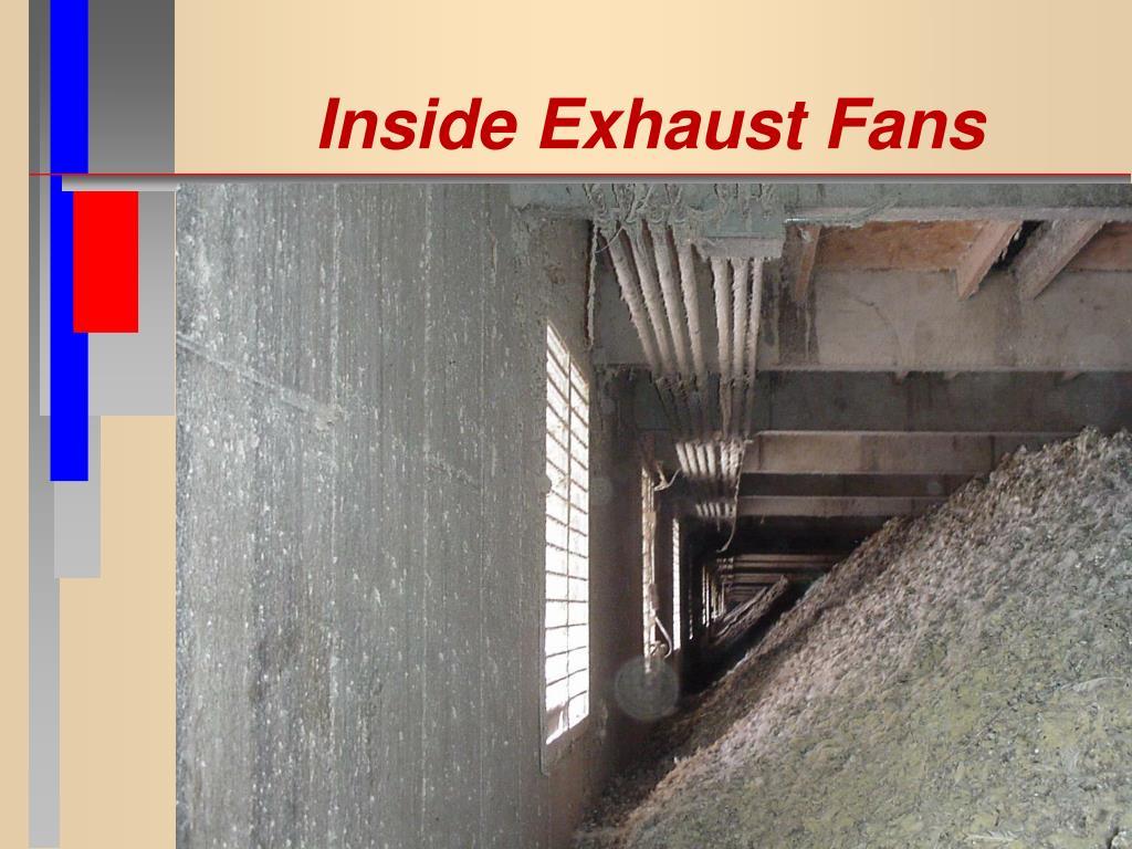 Inside Exhaust Fans
