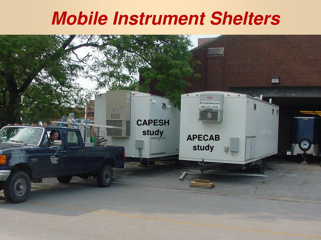 Mobile Instrument Shelters