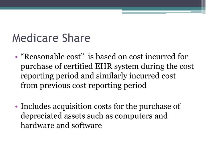 Medicare Share